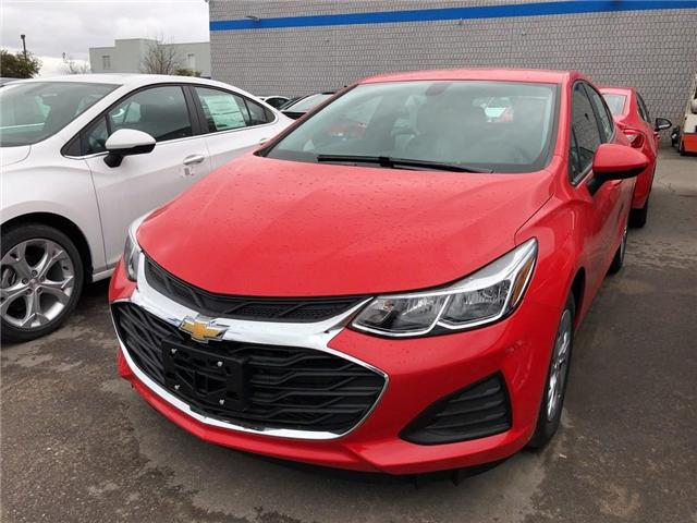2019 Chevrolet Cruze LS (Stk: 538647) in BRAMPTON - Image 1 of 4