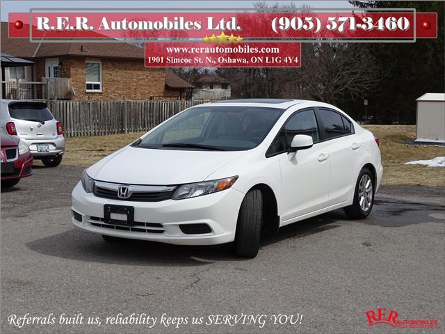 2012 Honda Civic EX (Stk: ) in Oshawa - Image 1 of 12
