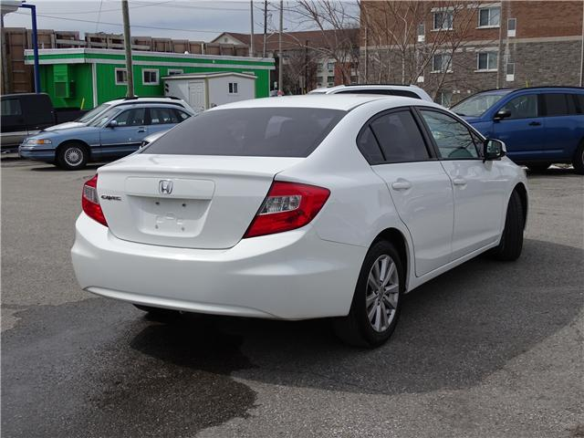 2012 Honda Civic EX (Stk: ) in Oshawa - Image 3 of 12