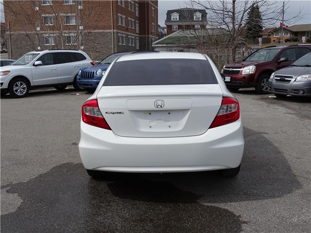 2012 Honda Civic EX (Stk: ) in Oshawa - Image 4 of 12