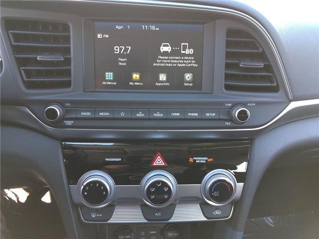 2019 Hyundai Elantra  (Stk: 46530) in Burlington - Image 9 of 14