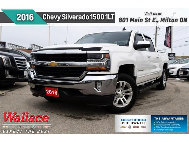 2016 Chevrolet Silverado 1500 1LT/5.3L/TRUE NORTH/4WD/TRAILR PKG/6 STPS (Stk: 161381A) in Milton - Image 1 of 3