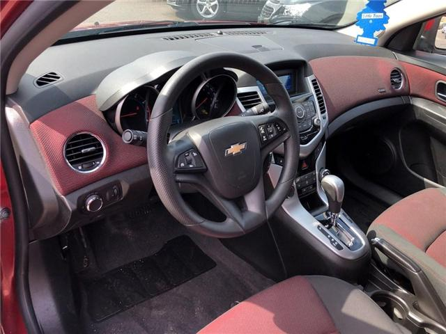 2012 Chevrolet Cruze LT|Remote Entry|Fuel Efficient| (Stk: 185169B) in BRAMPTON - Image 6 of 15