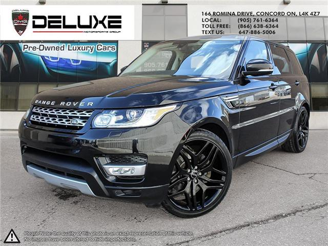 2016 Land Rover Range Rover Sport DIESEL Td6 HSE (Stk: D0553) in Concord - Image 1 of 27