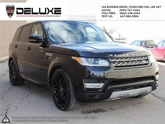 2016 Land Rover Range Rover Sport DIESEL Td6 HSE (Stk: D0553) in Concord - Image 6 of 27