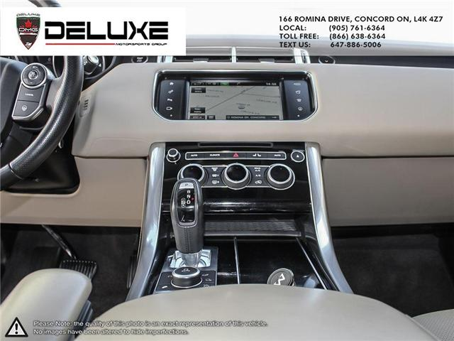 2016 Land Rover Range Rover Sport DIESEL Td6 HSE (Stk: D0553) in Concord - Image 17 of 27