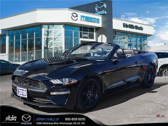 2018 Ford Mustang  (Stk: P4472) in Mississauga - Image 1 of 19