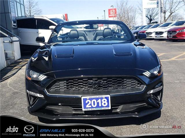 2018 Ford Mustang  (Stk: P4472) in Mississauga - Image 2 of 19
