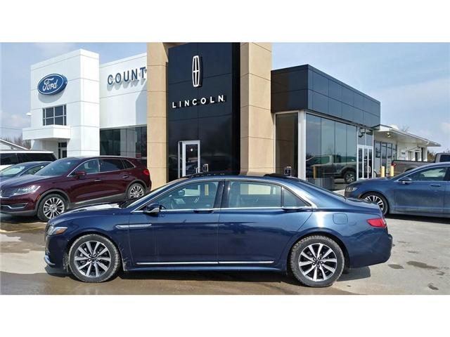 2017 Lincoln Continental Reserve (Stk: M1209A) in Bobcaygeon - Image 1 of 20