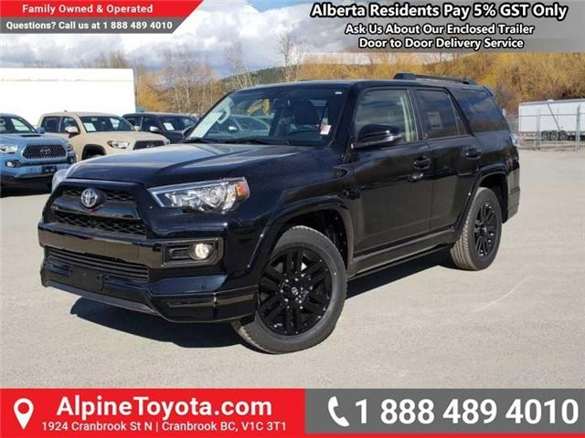 2019 Toyota 4Runner SR5 (Stk: 5675010) in Cranbrook - Image 1 of 18