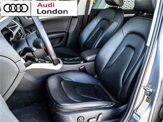 2015 Audi A4 2.0T Progressiv (Stk: 429938A) in London - Image 11 of 27