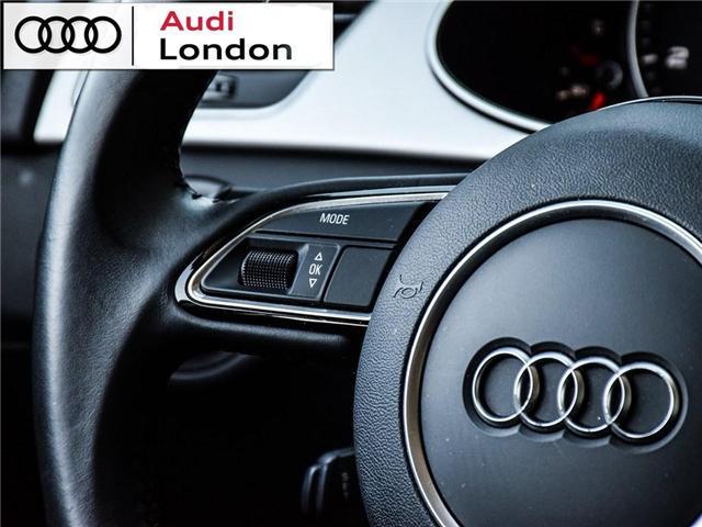 2015 Audi A4 2.0T Progressiv (Stk: 429938A) in London - Image 17 of 27