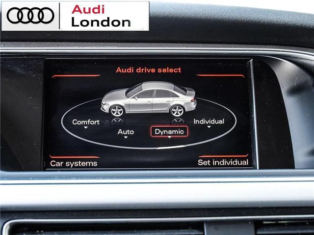 2015 Audi A4 2.0T Progressiv (Stk: 429938A) in London - Image 21 of 27