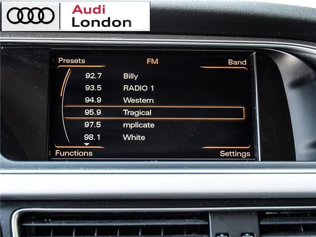 2015 Audi A4 2.0T Progressiv (Stk: 429938A) in London - Image 22 of 27