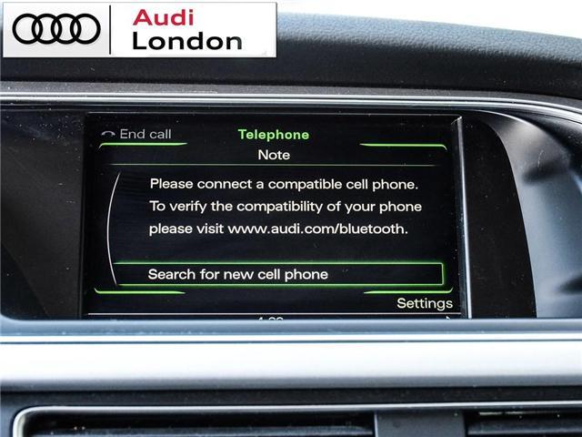 2015 Audi A4 2.0T Progressiv (Stk: 429938A) in London - Image 24 of 27
