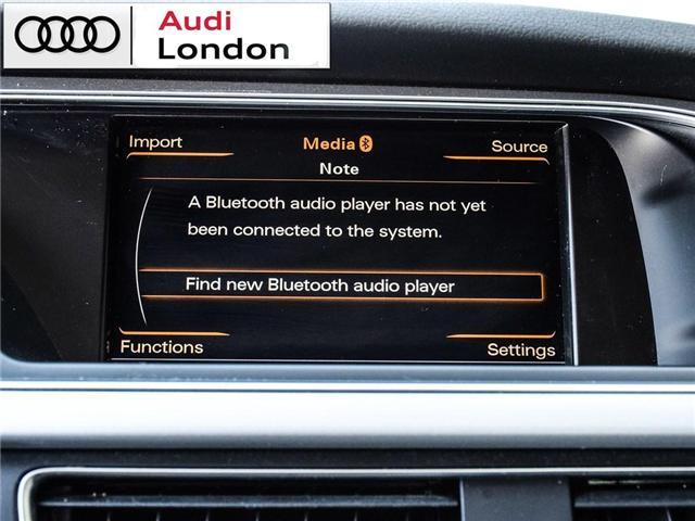 2015 Audi A4 2.0T Progressiv (Stk: 429938A) in London - Image 25 of 27