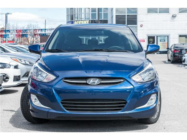 2017 Hyundai Accent  (Stk: H7812PR) in Mississauga - Image 2 of 18
