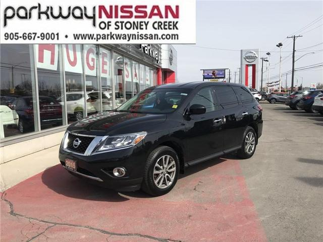 2015 Nissan Pathfinder S (Stk: N18419A) in Hamilton - Image 1 of 12