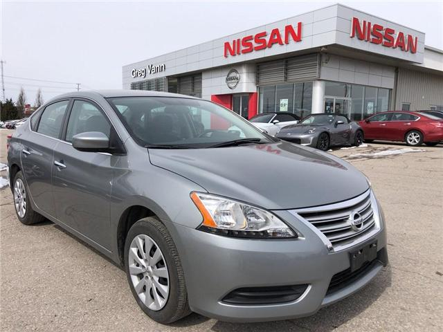 2013 Nissan Sentra 1.8 SV (Stk: V0112A) in Cambridge - Image 1 of 22