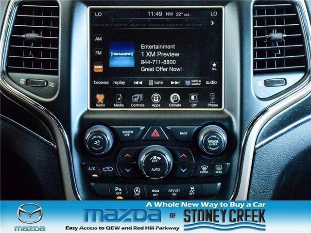 2017 Jeep Grand Cherokee Limited (Stk: SR749) in Hamilton - Image 16 of 19