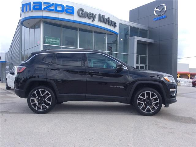 2018 Jeep Compass Limited (Stk: 03339P) in Owen Sound - Image 1 of 22