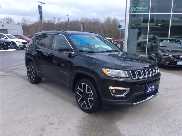 2018 Jeep Compass Limited (Stk: 03339P) in Owen Sound - Image 2 of 22