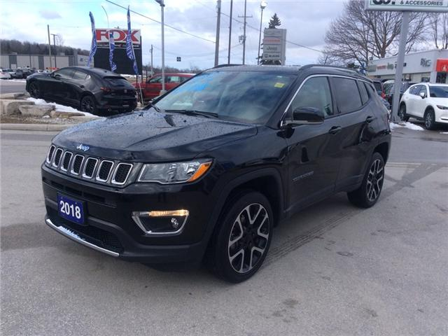 2018 Jeep Compass Limited (Stk: 03339P) in Owen Sound - Image 4 of 22