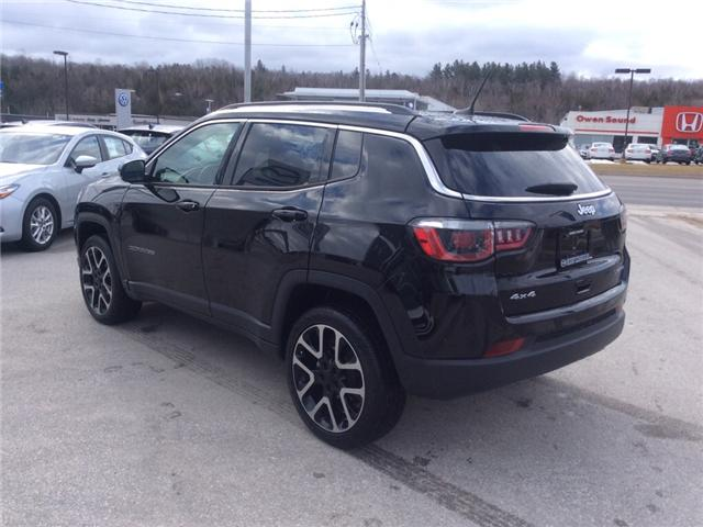 2018 Jeep Compass Limited (Stk: 03339P) in Owen Sound - Image 6 of 22