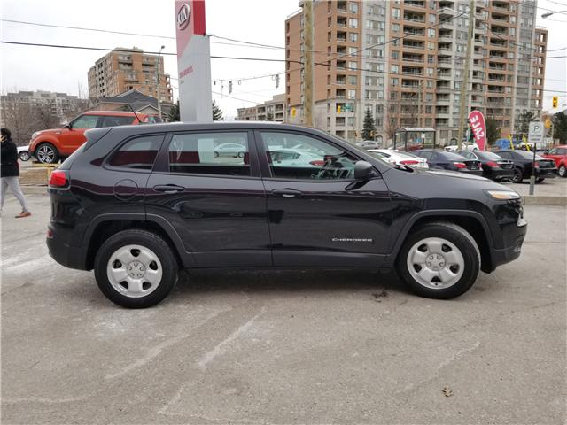 2016 Jeep Cherokee Sport (Stk: 6398A) in Richmond Hill - Image 6 of 21