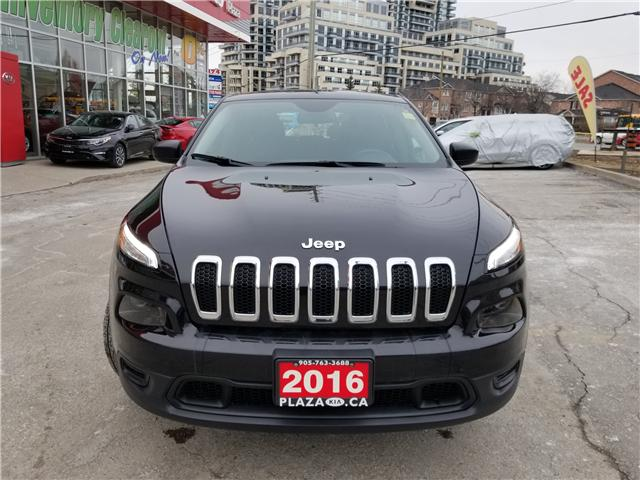 2016 Jeep Cherokee Sport (Stk: 6398A) in Richmond Hill - Image 8 of 21