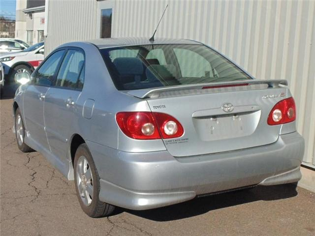 2006 Toyota Corolla Sport (Stk: X4651B) in Charlottetown - Image 2 of 6