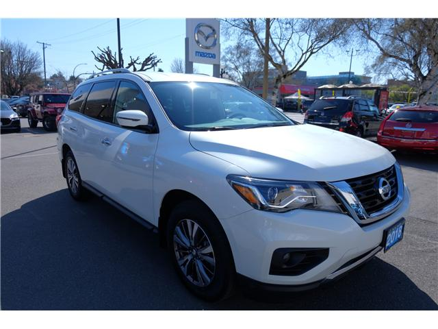 2018 Nissan Pathfinder SV Tech (Stk: 304451A) in Victoria - Image 1 of 21