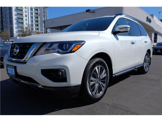 2018 Nissan Pathfinder SV Tech (Stk: 304451A) in Victoria - Image 4 of 21