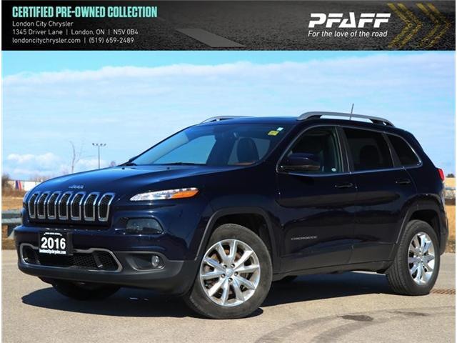 2016 Jeep Cherokee Limited (Stk: LC9525A) in London - Image 1 of 22
