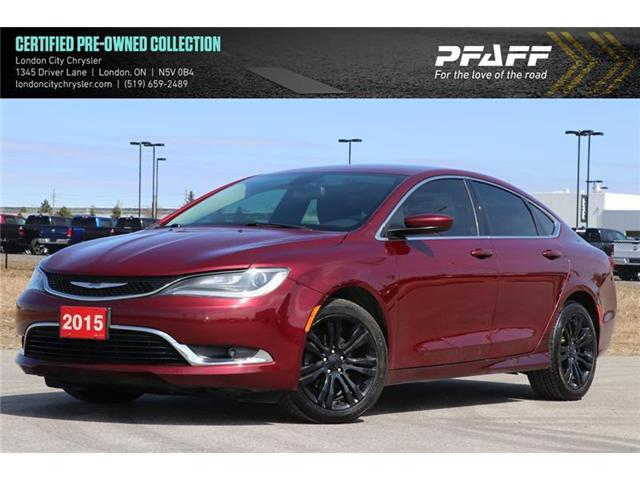 2015 Chrysler 200 Limited (Stk: LUU8579A) in London - Image 1 of 22