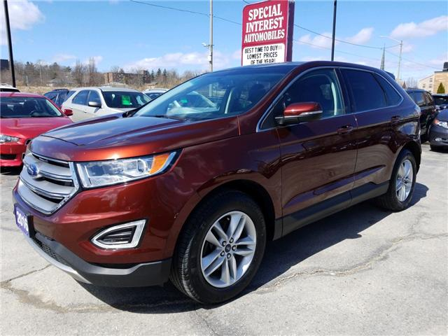 2016 Ford Edge Sel Navigation Sunroof Leather At 24995 For