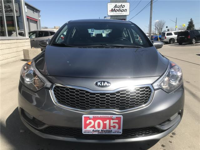 2015 Kia Forte  (Stk: 19308) in Chatham - Image 4 of 16