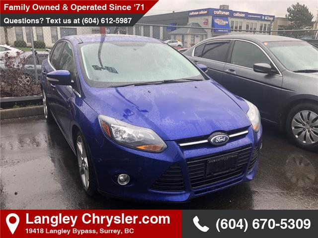 2014 Ford Focus Titanium (Stk: K594039A) in Surrey - Image 1 of 1