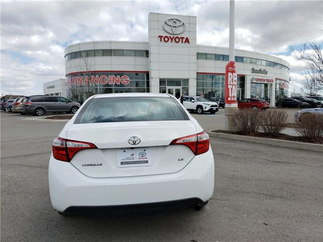 2015 Toyota Corolla LE (Stk: P1749) in Whitchurch-Stouffville - Image 4 of 13