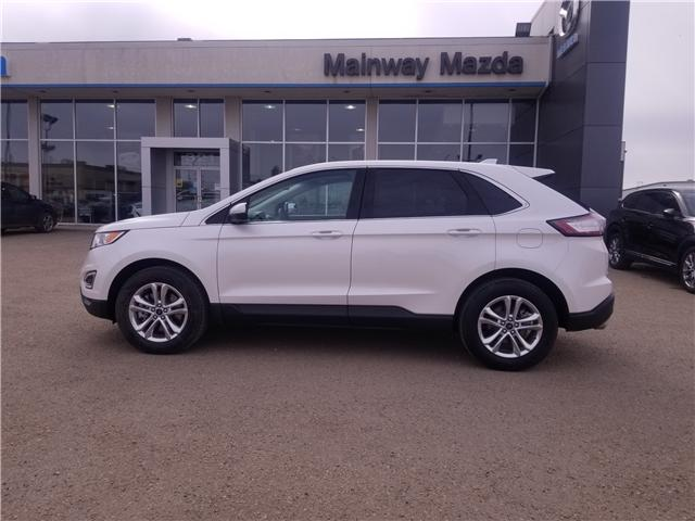 2018 Ford Edge SEL (Stk: P1555) in Saskatoon - Image 1 of 28