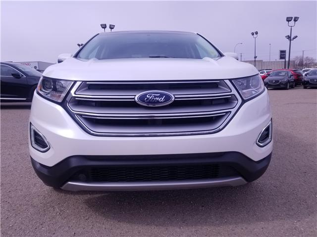 2018 Ford Edge SEL (Stk: P1555) in Saskatoon - Image 8 of 28