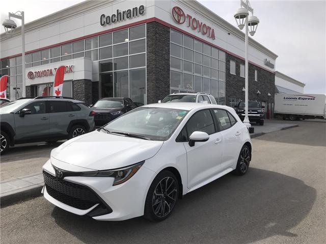 2019 Toyota Corolla Hatchback SE Upgrade Package (Stk: 190236) in Cochrane - Image 1 of 14