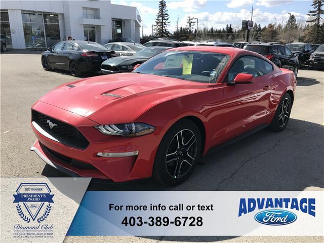 2019 Ford Mustang EcoBoost Premium (Stk: K-102) in Calgary - Image 1 of 5