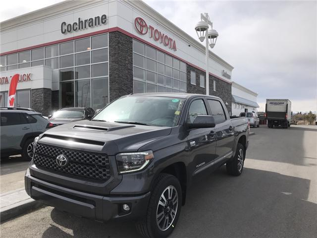 2019 Toyota Tundra TRD Sport Package (Stk: 190227) in Cochrane - Image 1 of 14