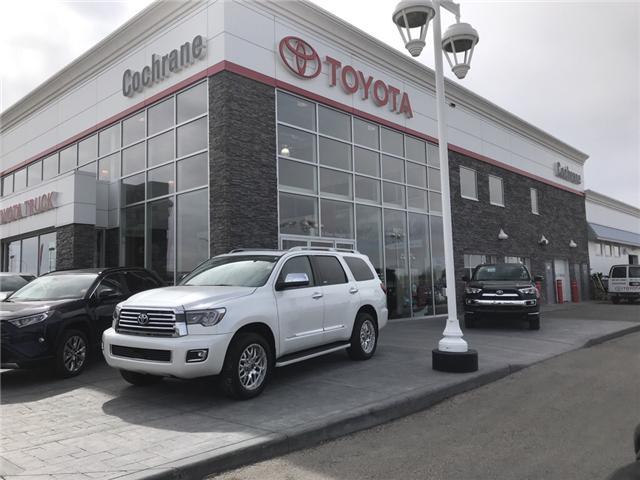2019 Toyota Sequoia Platinum 5.7L V8 (Stk: 190181) in Cochrane - Image 1 of 15