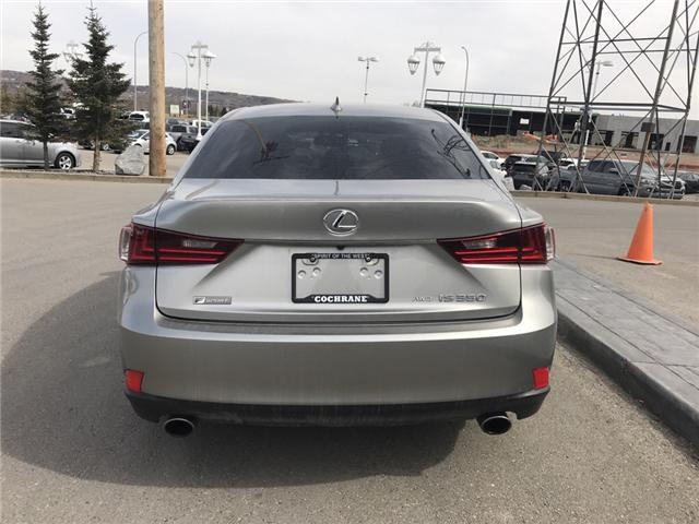 2016 Lexus IS 350 Base (Stk: 2803) in Cochrane - Image 4 of 15