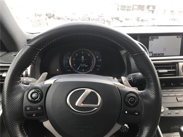 2016 Lexus IS 350 Base (Stk: 2803) in Cochrane - Image 13 of 15
