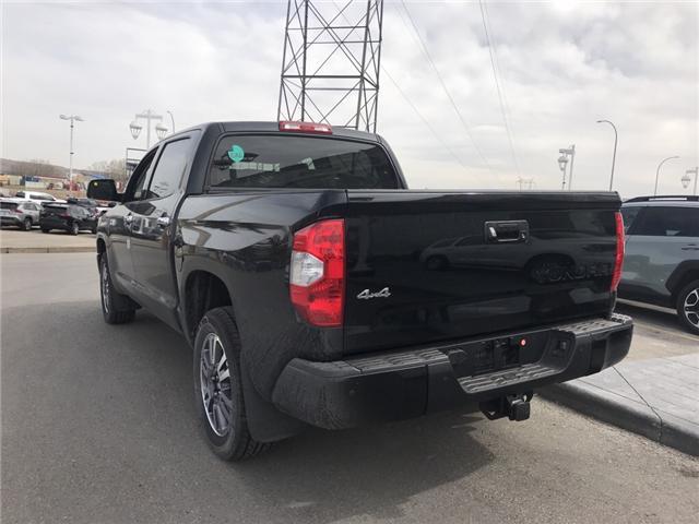 2019 Toyota Tundra Platinum 5.7L V8 (Stk: 190229) in Cochrane - Image 3 of 14