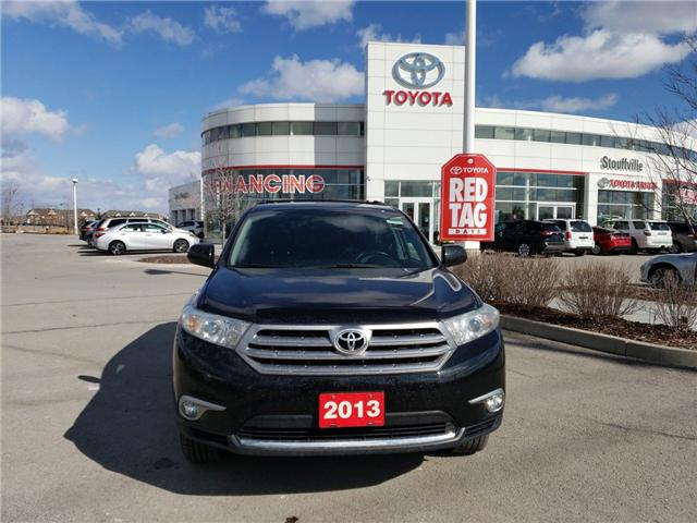 2013 Toyota Highlander V6 (Stk: P1713A) in Whitchurch-Stouffville - Image 2 of 14