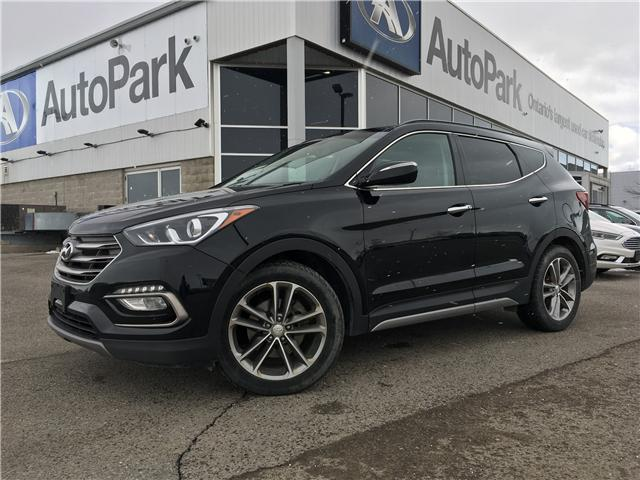 2017 Hyundai Santa Fe Sport 2.0T Limited (Stk: 17-34024RJB) in Barrie - Image 1 of 30